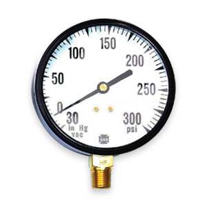Sprinkler & Fire Pump Gauges - Ametek U.S. Gauge Fire Pump Replacement Gauges