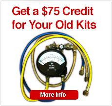 Get a $75. Credit for your Old Kits