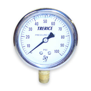 Trerice D821 Liquid Filled Gauges