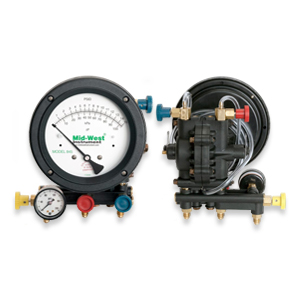 Mid-West Model 845 - Backflow Preventer Test Kit (3/4/5 Valve)