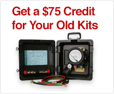 Get a $75 Credit for Your Old Kits